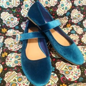Chatties Shoes - New Cute Blue Flats